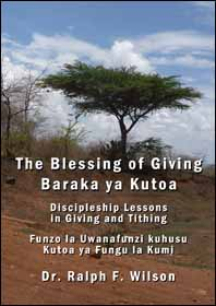 Discipleship Lessons in Tithing and Giving