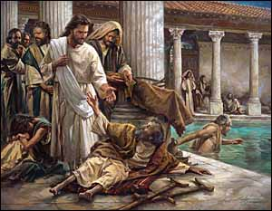 Half-Healing at the Pool of Bethesda A short story based on John 5:1-18