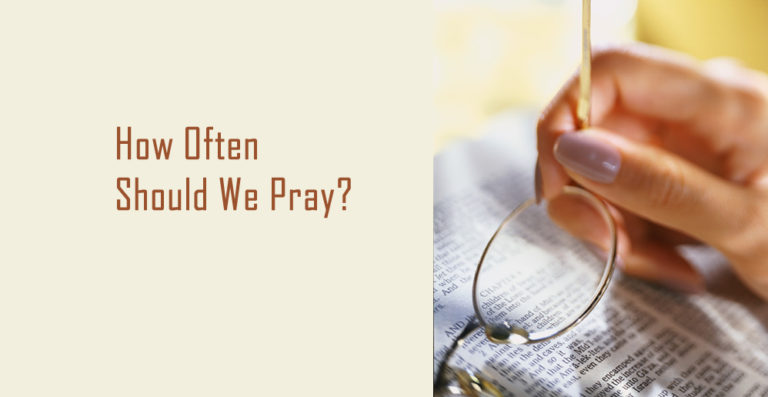 Do You Pray Every Day?