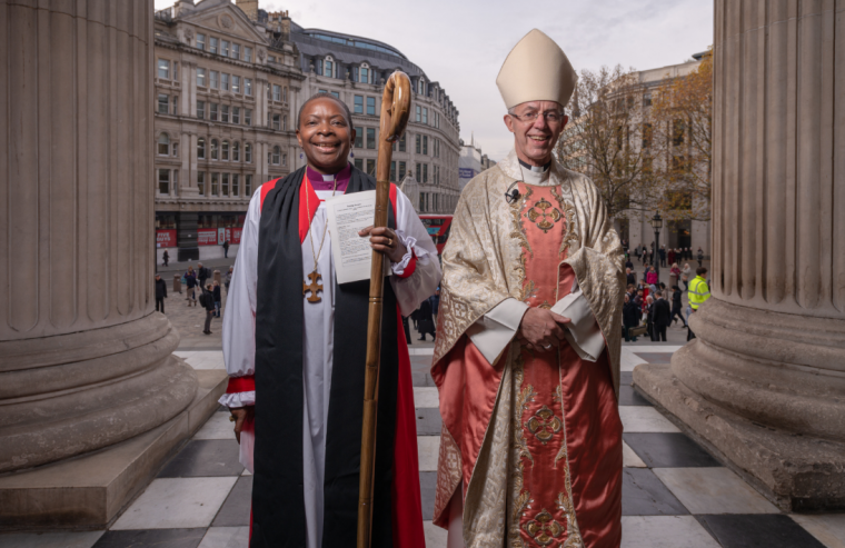 Rose Hudson-Wilkin consecrated as new Bishop of Dover