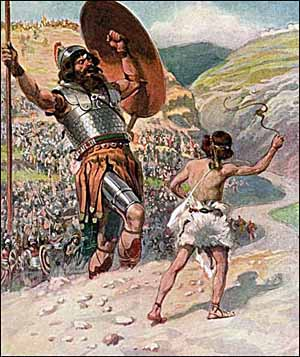 It's Not Your Fight any More The David and Goliath Story