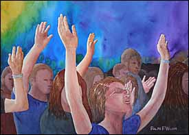 Let Us Lift Up our Hearts with our Hands (Lamentations 3:40-41)