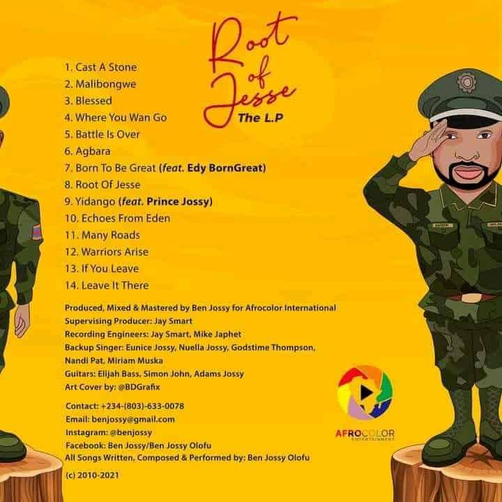 Root of Jesse LP – Ben Jossy
